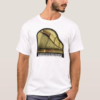 Stutzflügel-Klavier-T - Shirt