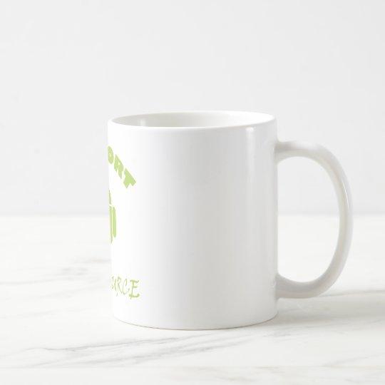 StützQuelle-Roboter Kaffeetasse
