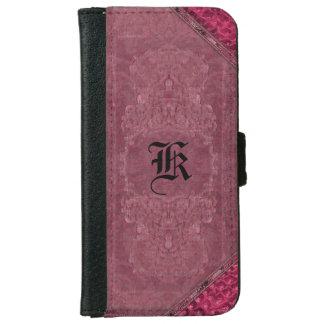 Style de vieux livre de Harlen Philly II Coque Avec Portefeuille Pour iPhone 6
