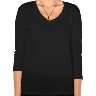 Style noir violet foncé gothique d'Emo T-shirts
