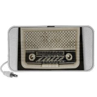 stylish retro radio plus speaker système de haut-parleurs