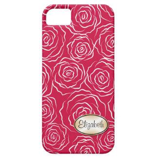 Stylized Rosen-Garten-Muster | iPhone 5 Fall Etui Fürs iPhone 5