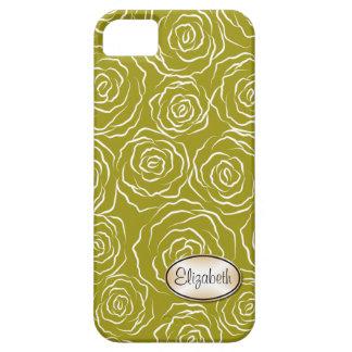 Stylized Rosen-Garten-Muster | iPhone 5 Fall iPhone 5 Case