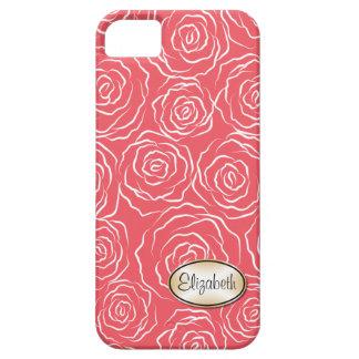 Stylized Rosen-Garten-Muster | iPhone 5 Fall iPhone 5 Hülle