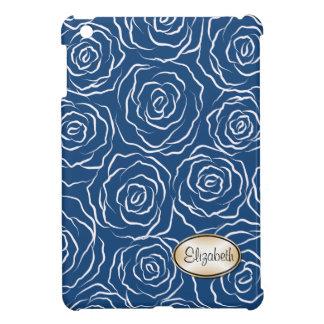 Stylized Rosen kopieren iPad Minifall - Blau iPad Mini Schale