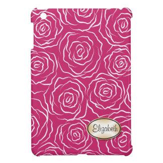 Stylized Rosen kopieren iPad Minifall - heißes Ros Hüllen Für iPad Mini