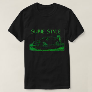 Subaru grüner NeonT - Shirt