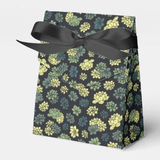 Succulents-Muster Geschenkschachtel