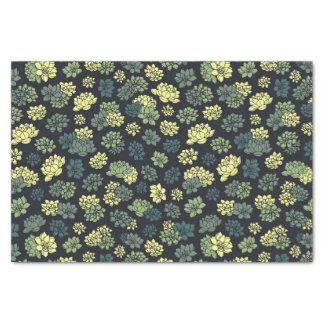 Succulents-Muster Seidenpapier