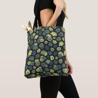 Succulents-Muster Tasche