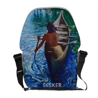 Sucher - indischer Rucksack Kurier Taschen