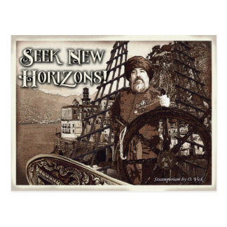 Suchvorgang-New Horizons-Postkarte Postkarte
