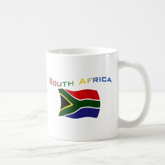 Südafrika-Flagge 3 Kaffeetasse