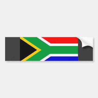 Südafrika-Flagge Autoaufkleber