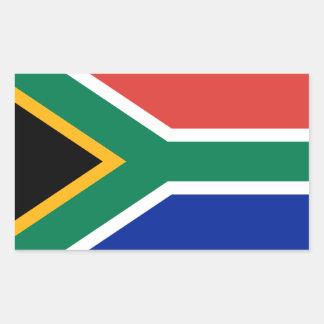 Südafrika-Flaggen-Aufkleber Rechteckiger Aufkleber