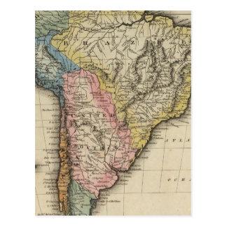 Südamerika 24 postkarte