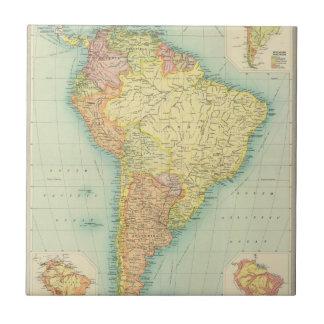 Südamerika politisch fliese