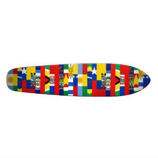 Südamerikanisches Flaggen-Skateboard Individuelles Skateboard