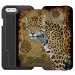 Südamerikanisches Jaguar am Tempel von Caracal Incipio Watson™ iPhone 6 Geldbörsen Hülle