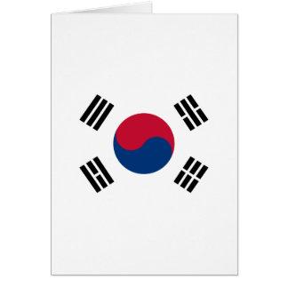 Südkorea Karte