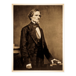 Südlicher Präsident Jefferson Davis Postkarte