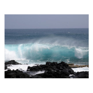 Südpunkt-Welle, Hawaii Postkarte