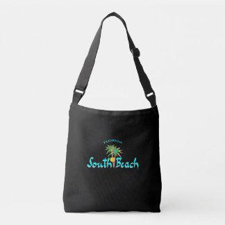 Südstrand Miami, Florida, Palmen, tropisch, Tragetaschen Mit Langen Trägern