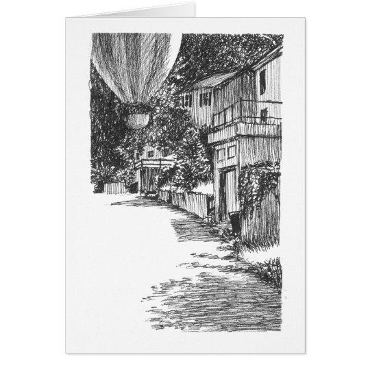 Südtöpfer-Straße Mitteilungskarte