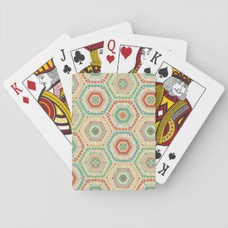 Südwesthexagon-Muster SüdwestGeo-Schritt-| Spielkarten