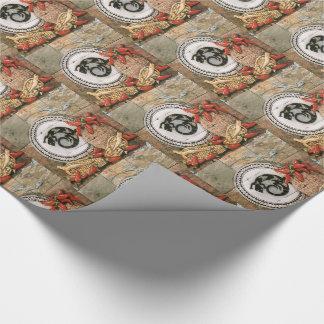 SüdwestPackpapier-Eidechsen-indischer Korb-Mais Geschenkpapier