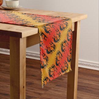Südweststammes- Muster Kokopelli Entwurf Großer Tischläufer