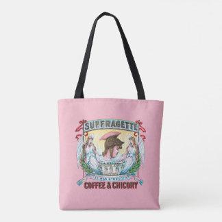 Suffragette-Kaffee u. Zichorie Tasche