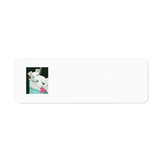 Sully den Jack-Russell-Terrier Rücksende Aufkleber