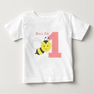 Summen Sie, ich sind ein, erster Geburtstag, Baby T-shirt