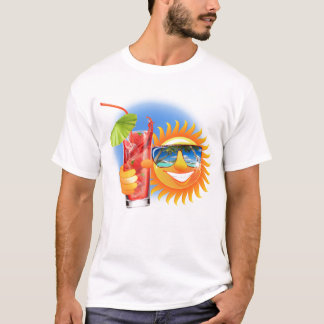 Summer Sun Smiley T-Shirt