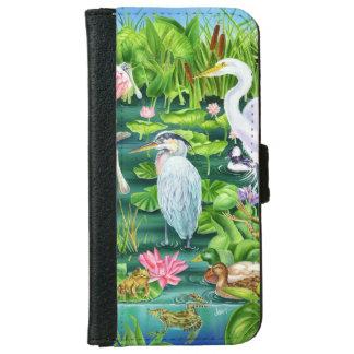 Sumpfgebiet-Wunder Geldbeutel Hülle Für Das iPhone 6/6s