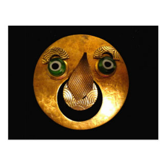 Sun-Maske Postkarte