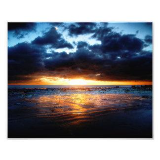 Sun, Meer u. Sand Fotodruck