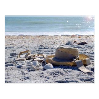 Sun, Sand, Strand, Ferien Postkarte