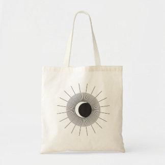 Sun und Mond-Eklipse-Taschen-Tasche Tragetasche