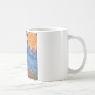 Sun und Wellen Kaffeetasse