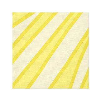 Sunbeam-abstrakter Kunst-Druck Leinwanddruck