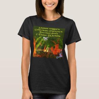 Sunbeams des grundlegenden T - Shirt der