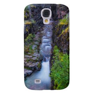 Sunrift Schlucht im Glacier Nationalpark, Montana Galaxy S4 Hülle