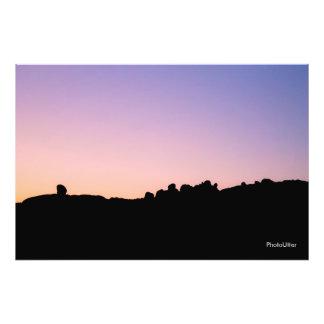 Sunset Fotografische Drucke