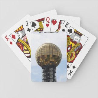 Sunsphere in Knoxville Spielkarten