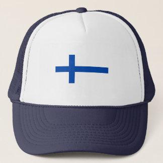 Suomen Lippu - die finnische Flagge Truckerkappe