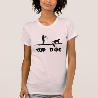 SUP Hund - Mädchen T-Shirt