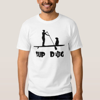 SUP Hundesitzen Tshirts