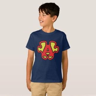 Super-ASPIE zackiger Logomann mein Supermacht-T - T-Shirt